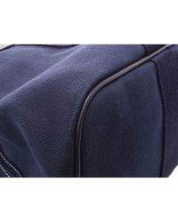 Hermès Leinen Taschen in Blue für Herren