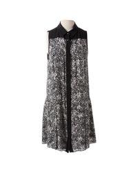 Proenza Schouler Black Silk Dress