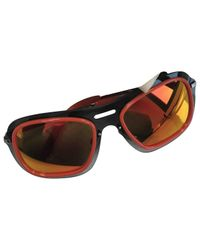 Louis Vuitton Orange Pre-owned Sunglasses for men