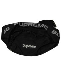 Supreme Black Small Bag for men