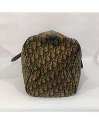 Dior Natural Leinen Reisetaschen