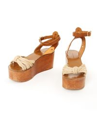 Étoile Isabel Marant Brown Leather Sandals