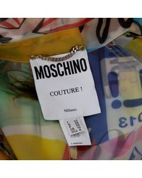 Trenchs en Synthétique Multicolore Moschino