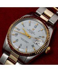Rolex Oyster Perpetual 34mm Uhren in White für Herren