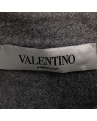 Valentino Gray Wolle Tops