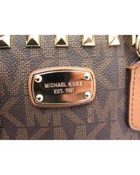 Bolso de Lona Michael Kors de color Brown