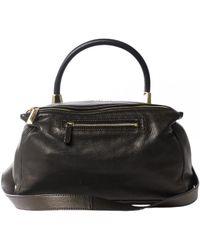 Givenchy Black Pandora Leder Kleine tasche
