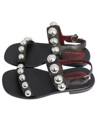Marc By Marc Jacobs Pre-owned Black Leather Sandals
