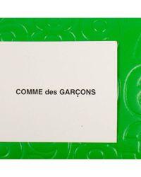 Comme des Garçons Leder Kleinlederwaren in Green für Herren