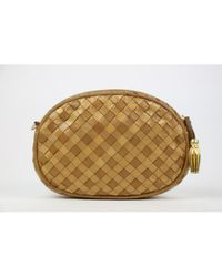 Bottega Veneta Brown Pre-owned Leather Clutch Bag