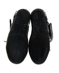 Dior Black Leder Sneakers