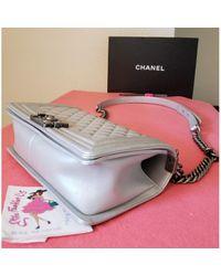 Chanel Multicolor Boy Leder Handtaschen