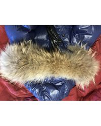 Moncler Pre-owned Blue Synthetic Coats