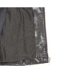 Blouson en cuir Rick Owens pour homme en coloris Black