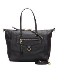 Louis Vuitton Black Lumineuse Exotenleder tasche