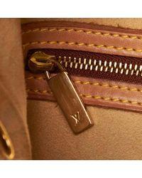 Bolsa de mano en lona marrón Looping Louis Vuitton de color Brown