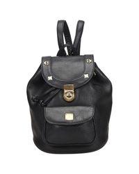 MCM Black Leather