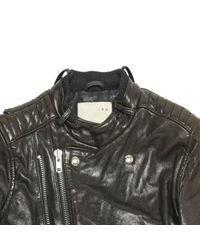 IRO Brown Leather Jacket for men