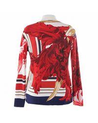 Roberto Cavalli Red Viscose Knitwear
