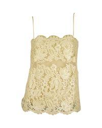 Roberto Cavalli Natural Silk Camisole