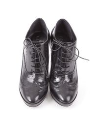Burberry Black Pre-owned Leather Boots