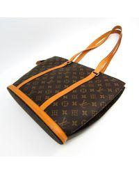 Louis Vuitton Brown Babylone Leinen Handtaschen