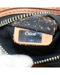 Borsa a mano in pelle marrone di Chloé in Brown