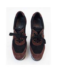 Burberry Multicolor Multicolour Suede Heels