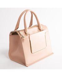 Roger Vivier \n Pink Leather Handbag