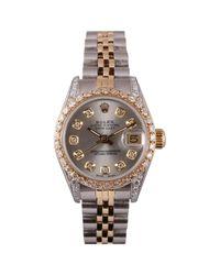 Rolex Gray Lady Datejust 26mm Uhren