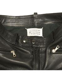 Maison Margiela Black Leather for men