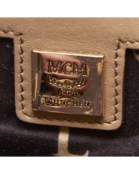 MCM Brown Leather