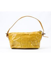 Pochette Baguette Giallo di Fendi in Yellow