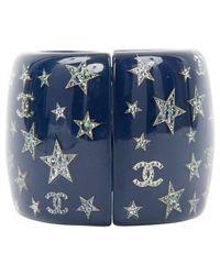 Chanel - Blue Ceramic Bracelet - Lyst