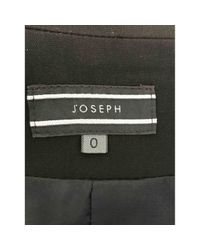 Joseph Black Polyester Jacket