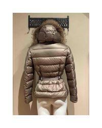 Moncler Multicolor Fur Hood Anorak