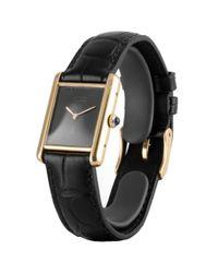 Orologio in vermeil kaki Must 21 di Cartier in Black