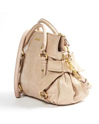 Miu Miu Natural \n Other Leather Handbag
