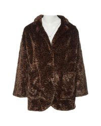 The Kooples Pre-owned Brown Faux Fur Coats