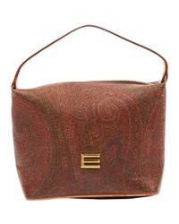 Etro Red Leder Handtaschen