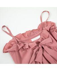 Chloé Pink Seide Spaghettiträgertop