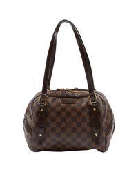 Sac à main Rivington en Toile Marron Louis Vuitton en coloris Brown