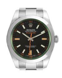 Rolex Milgauss Uhren in Black für Herren
