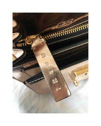 Marni Metallic Trunk Leder Handtaschen