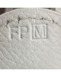 Hermès White Evelyne Leder Handtaschen