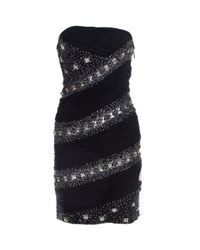 Roberto Cavalli Black Silk Dress
