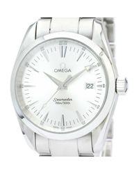 Montre Seamaster Omega pour homme en coloris White