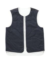Vest.Blousons Écru Maison Margiela pour homme en coloris Blue
