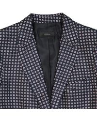 Joseph Blue Navy Silk Jacket