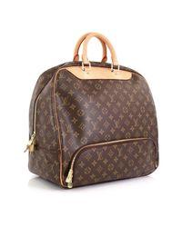 Louis Vuitton Brown Evasion Leinen Reisetaschen